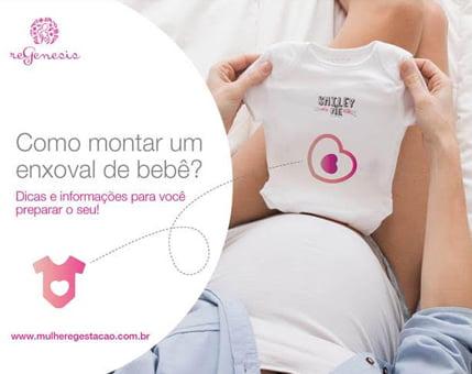 E-book: Como montar um enxoval de bebê - Mulher e Gestação